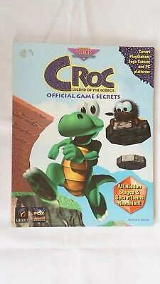 CROC Legend of The Gobbos Official PS1 PC Strategy Guide - *AUS SELLER*
