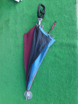 Original Walking Stick D'Epoca with Seated - Old Brolly Umbrella Hunting