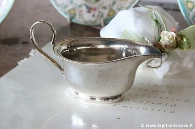 Creamer Period in Silver Plated - Kettle Milk English - Vintage Epns Jug
