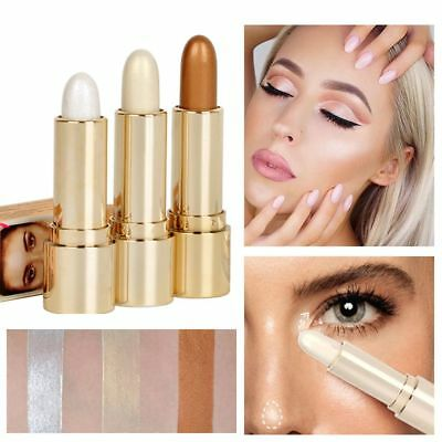 HANDAIYAN 3 Colors Highlighter Stick Face Brighten Concealer 3D Contouring