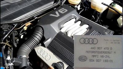Chip TUNING for Audi V6 80 B4 A6 100 C4 2.6L engine 4A0 907 473 D ECU