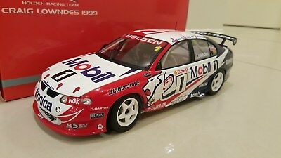 AUTOart 1:18 1999 Holden VT Commodore HRT V8 Supercar #1 Lowndes ATCC Winner