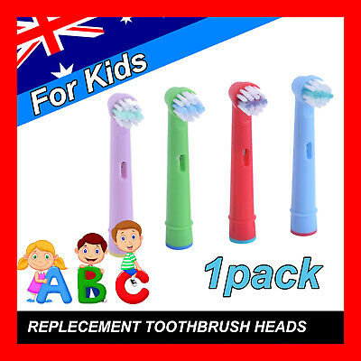 Children Kids Electric Toothbrush Heads Oral B Compatible Replacement Brush 4pcs