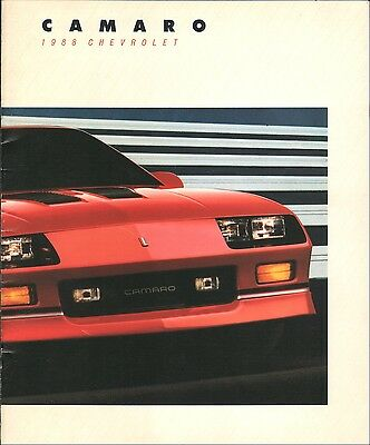 Original 1988 Chevrolet Camaro Brochure