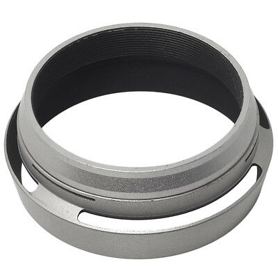 3X(Filter Adapter Ring + Aluminum metal Lens Hood for Fujifilm Fuji FinePix X UP