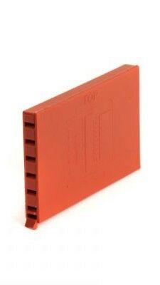 Brick timco terracotta wall weep vent  65x10x100         50vents
