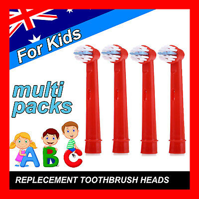 Children Kids Electric Toothbrush Heads Oral B Compatible Replacement Brush 20pc