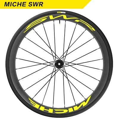 Two Wheel Stickers Set for MICHE SWR Road Bike Fixed Gear Bicycle Cycling Decals