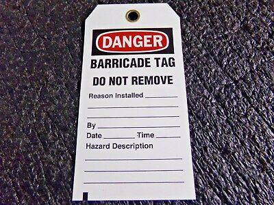 BRADY Polyester Caution Tag,5-3/4in. H x 3in. W,Pe,PK25, 132422 (EF)