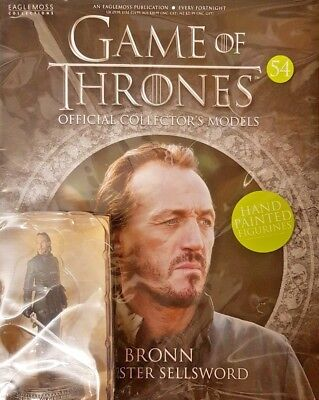 Game Of Thrones = Official Collectors Models = # 54 = Bronn Lannister Sellsword