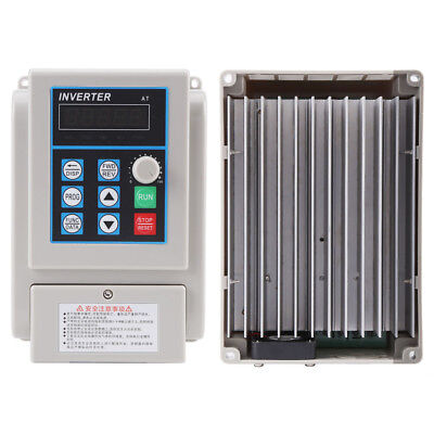 AC 220V 1.5KW Variable Frequency Drive VFD CNC Inverter for 3-phase Motor