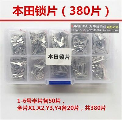 High Security copper Keying Kit 340pcs and 380pcs fit for Honda