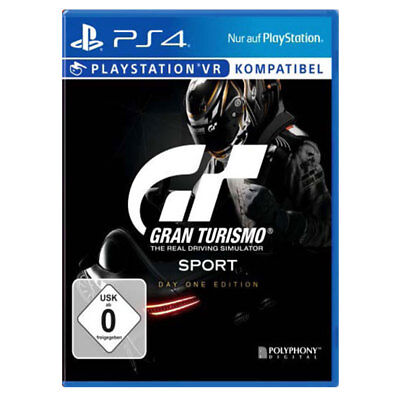 Sony Playstation 4 PS4 Gran Turismo Sport- Day One Edition NEU OVP