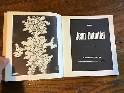 1968 JEAN DUBUFFET DRAWINGS SC Book Museum of Modern Art, NY Publication MOMA
