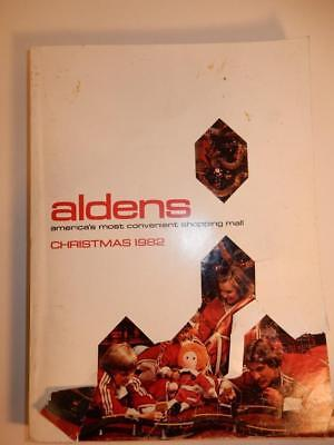 VINTAGE 1982 CHRISTMAS TOY ALDENS CATALOG 1980s HOT WHEELS BARBIE DOLLS
