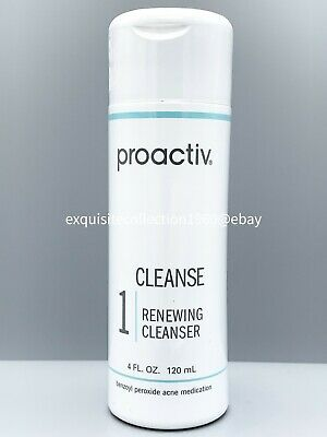 Proactiv 4oz Renewing Cleanser Cleanse 60 day Proactive Solution New 2021 EXPIRY