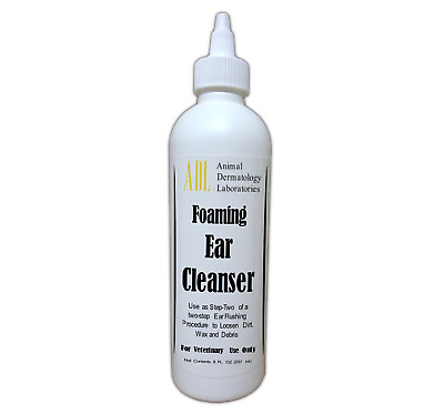 Animal Dermatology Labs Ear Cleanser Foaming Antiseptic - - Step 1 16oz.