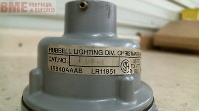 Hubbell Lighting Vp-1 With Hubbell Vfb-15 Fixture Cap