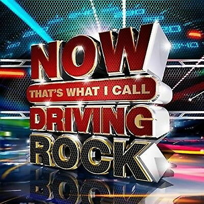 Now That's What I Call Driving Rock Various Artists 3 CD 59 Hits New & Sealed