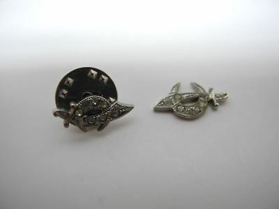 Vintage Masonic Shriners Silver Lapel Pin and Sterling Emblem