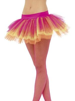 Tutu Neon Multi-Colored Adult Costume Underskirt One Size