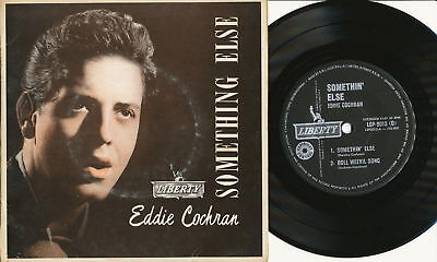 "Eddie Cochran EP Australia LIBERTY LEP 2013 ""Something Else"" rare in super cond."