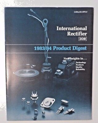 1983/84 International Rectifier Power Semiconductor Product Digest