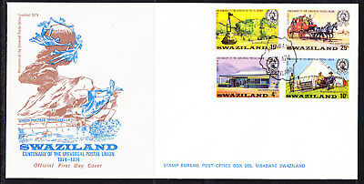 Swaziland 1974 U.P.U. Centenary First Day Cover Unaddressed