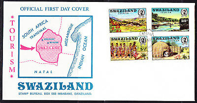 Swaziland 1972 Tourism First Day Cover Unaddressed