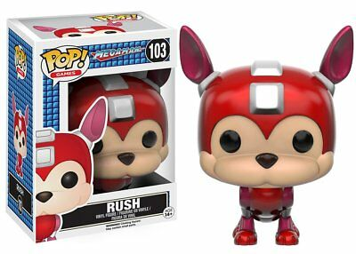 Mega Man Funko Pop Games Vinyl Figure Rush