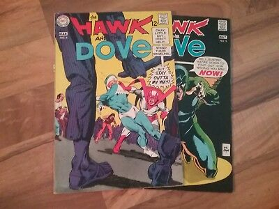 The Hawk and The Dove lot of 2 #4 & #5