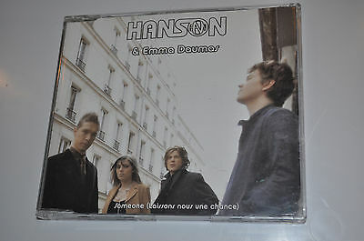 EXTREMELY RARE Hanson Someone 1 Track French PROMO CD!