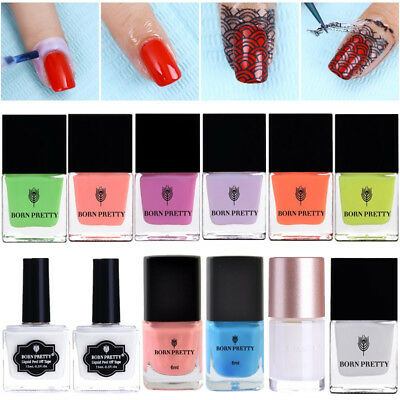 BPRN PRETTY Nail Peel Off Latex Liquid Tape Nail Polish Base Coat Tools
