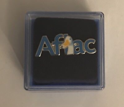 Aflac Duck Insurance Lapel Pin