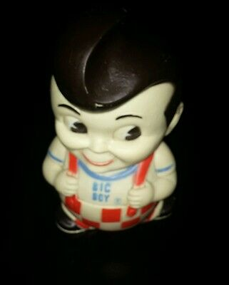 Vintage Retro Bobs Big Boy 1970s Collectible Coin Money Bank