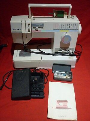 Singer 9110 Sewing Machine & Foot Controller Pedal For Parts Or Repair