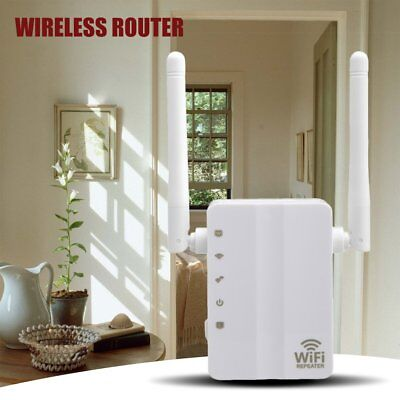 300Mbps Wireless-N Range Extender WiFi Repeater Signal Booster Network Router GD