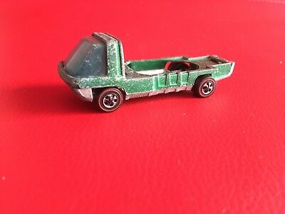 Mattel Hot Wheels 1969 Red Line The Heavy Weights Truck Missing Top Part