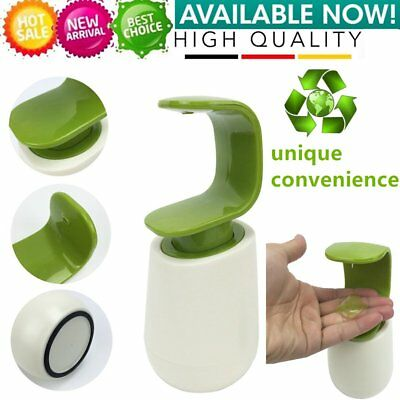 C Type Liquid Soap Dispenser Shampoo Liquid Bottle Pump Container Bathroom BU