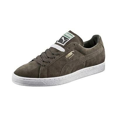 ce5a6ce9fc6b Puma Suede Classic + Low Sneakers Men Shoes Forest Night 356568-65 Size 9.5  New