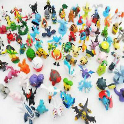 24 x Pokemon Go Action Figures with ball Pikachu Pop-up lot kid toys