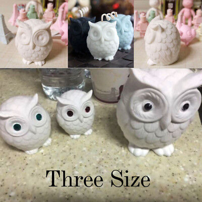 DIY Owl Bird Candle Molds Soap Mold Craft Wax Resin Mould