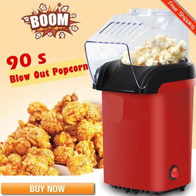 Electric Popcorn Maker Household Automatic Popcorn Machine Air Blowing Popper P%