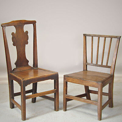 Antique Country Oak Chair 18th Century (delivery available)