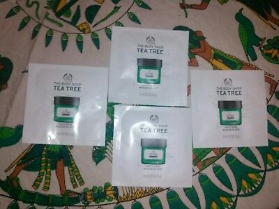 New Vegetarian The Body Shop Tea Tree Anti-Imperfection Night Mask 4 application