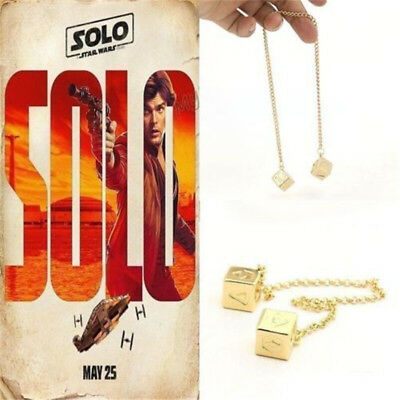 2019 Dice Han Solo Lucky Sabacc Millennium Falcon Star Wars Story Cosplay Prop