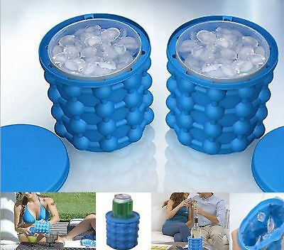 Ice Cube Maker Genie The Revolutionary Space Saving Ice Cube Maker Genie HOT
