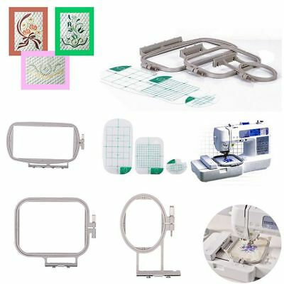 3Pcs Embroidery Hoops for Brother SE400 SE425 SE270D HE-120 HE-240 Machine Kit