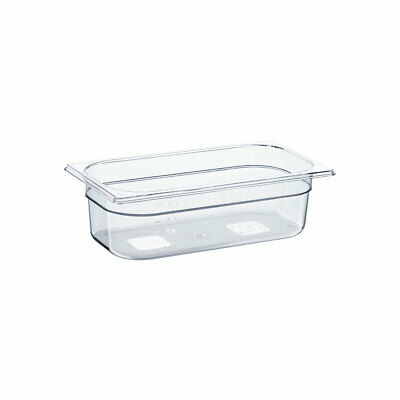 Gastronormbehälter NEW MODEL Polycarbonat GN 1/3 325x175x100 mm 3,8L transparent
