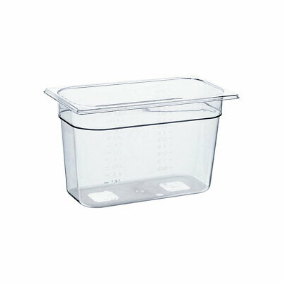 Gastronormbehälter NEW MODEL Polycarbonat GN 1/3 325x175x200 mm 7,1L transparent